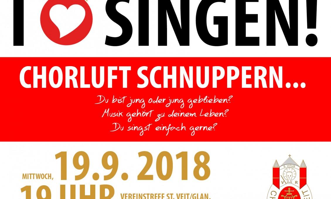 19.9.2018: Offene Chorprobe